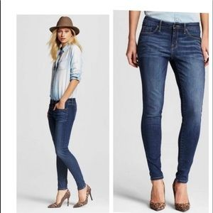 Mossimo Mid Rise Skinny Jeans